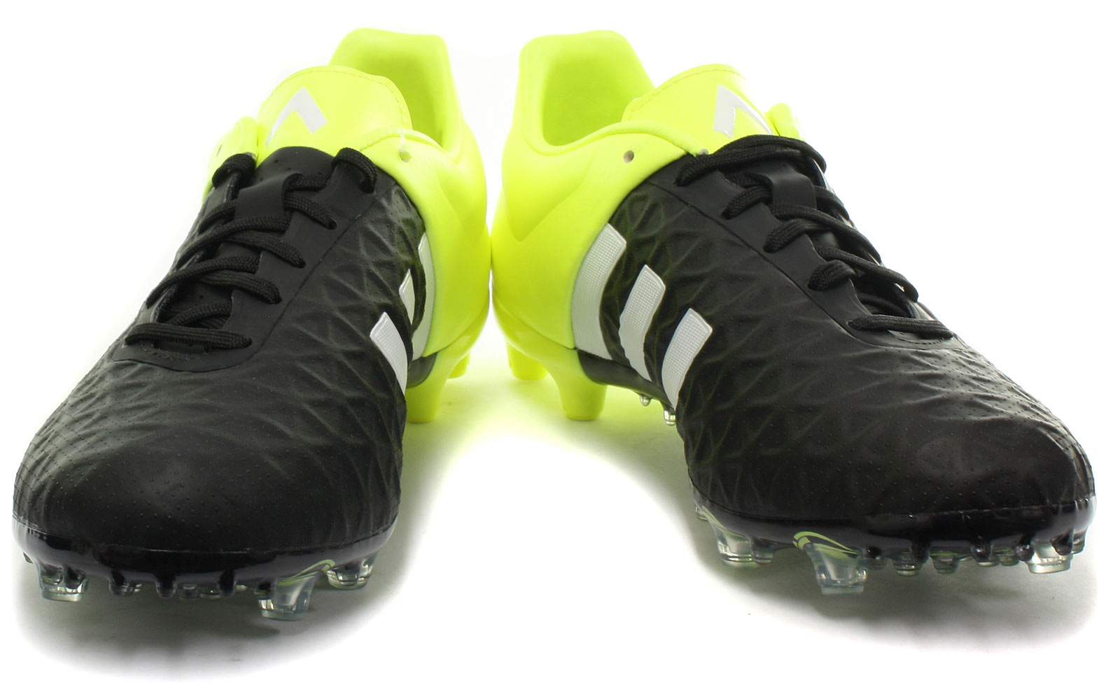 f8c839595 adidas Ace 15.2 FG AG Blk Yellow Mens Football Boots   Soccer Cleats ALL  SIZES 2 2 of 6 ...