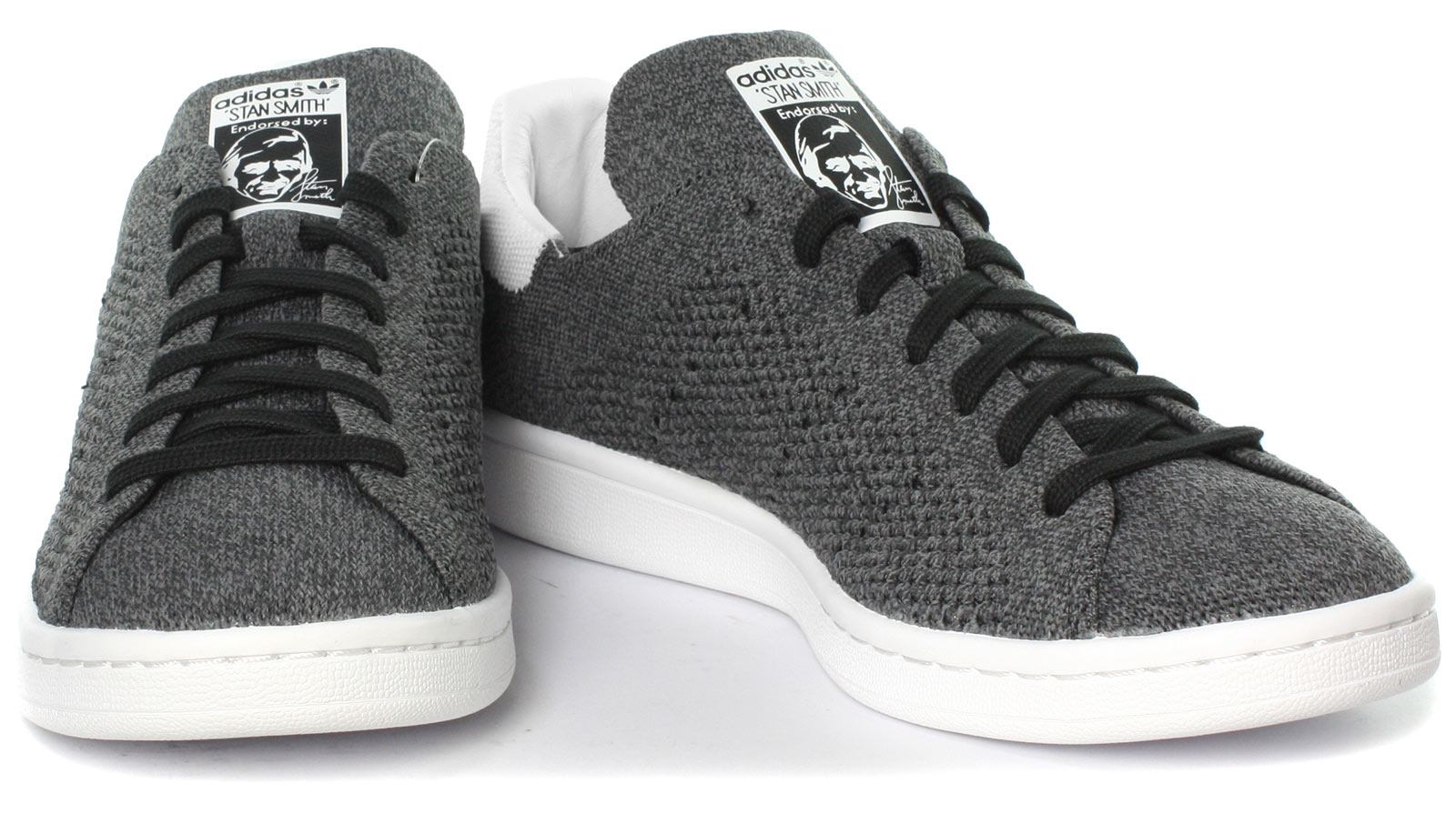 new style 1e796 18c2e adidas Stan Smith Primeknit Originals Trainers Shoes Black White Tennis  BZ0118 UK 8. About this product. Picture 1 of 6 Picture 2 of 6 ...