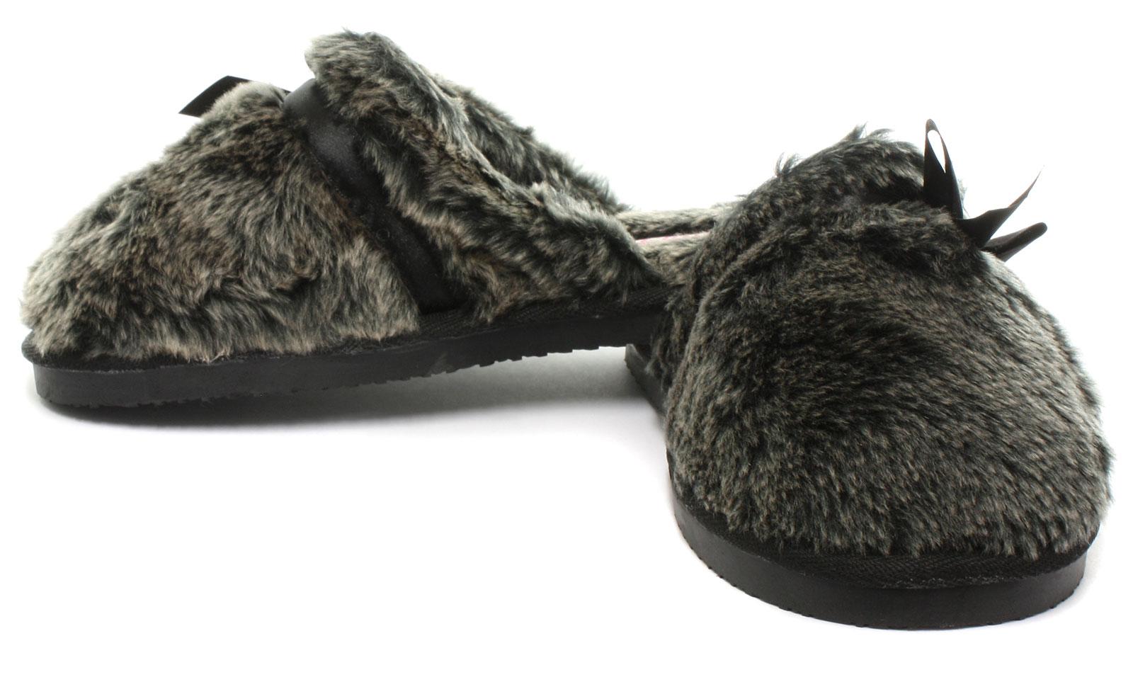 Nuevo Dunlop Adrienne carbón para mujer Zapatillas Mulas Size UK 6 (UE 39)