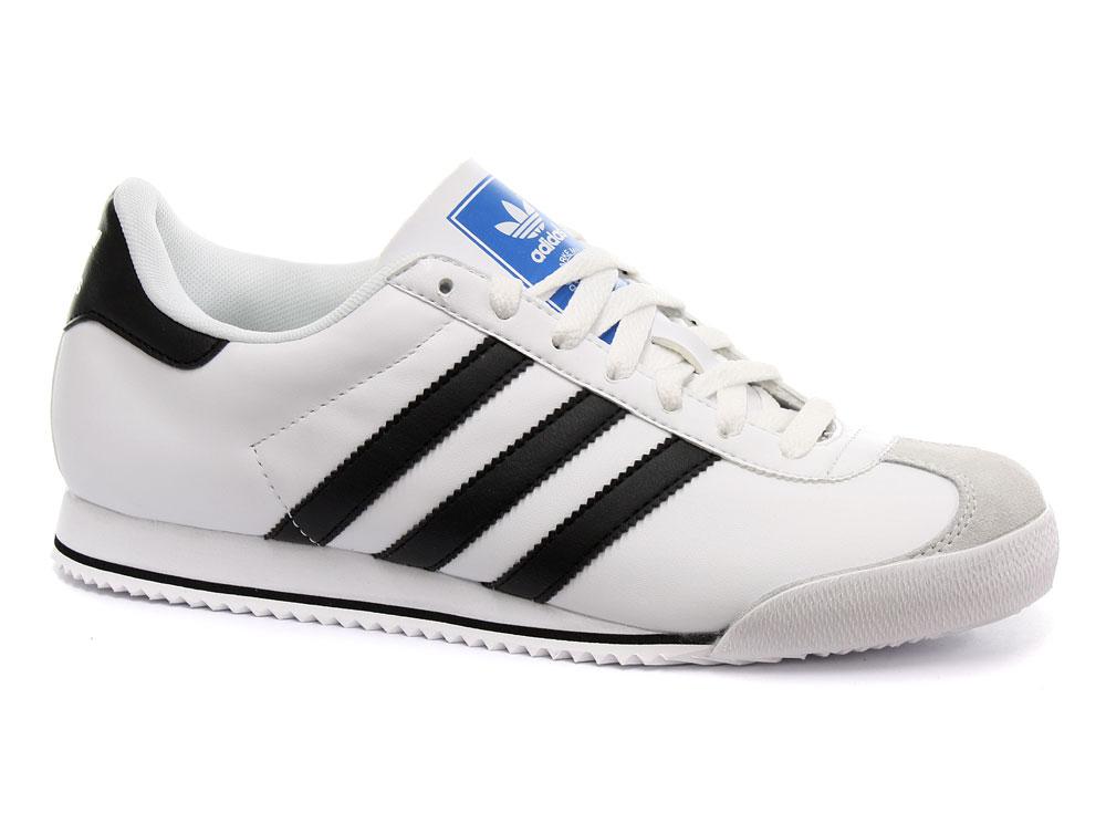 New Adidas Originals Kick White Black Mens Trainers G51306