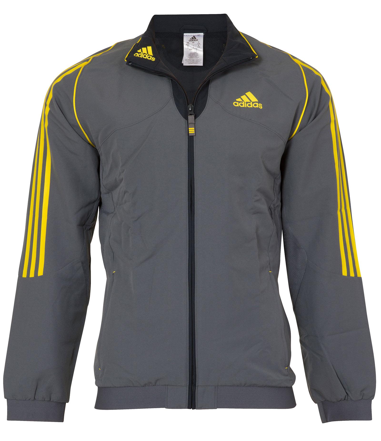 chaqueta hombre futbol adidas