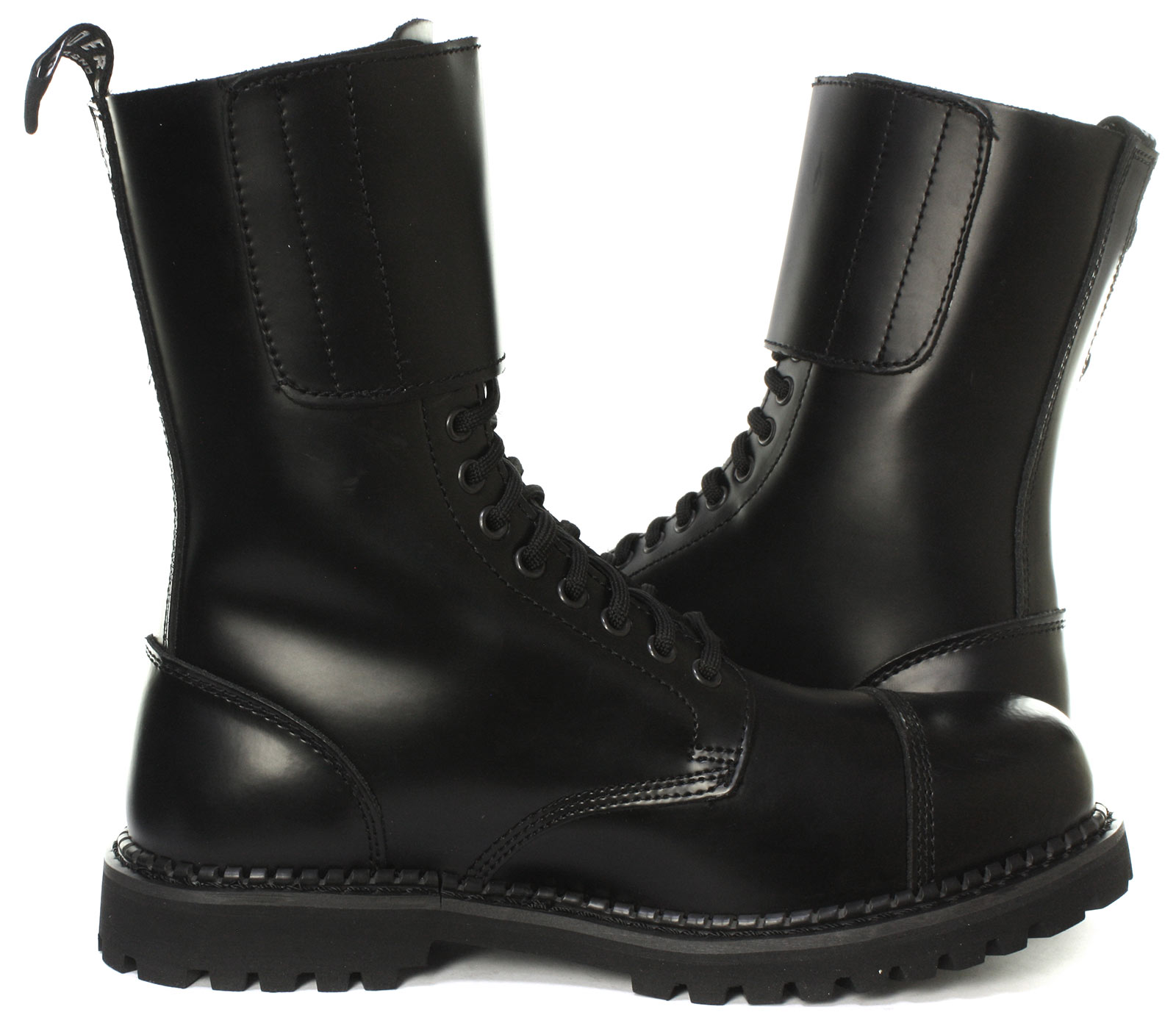 Grinders-Camelot-CS-14-Eyelet-Twin-Buckle-Unisex-Steel-Toe-Boots-ALL-SIZES thumbnail 3