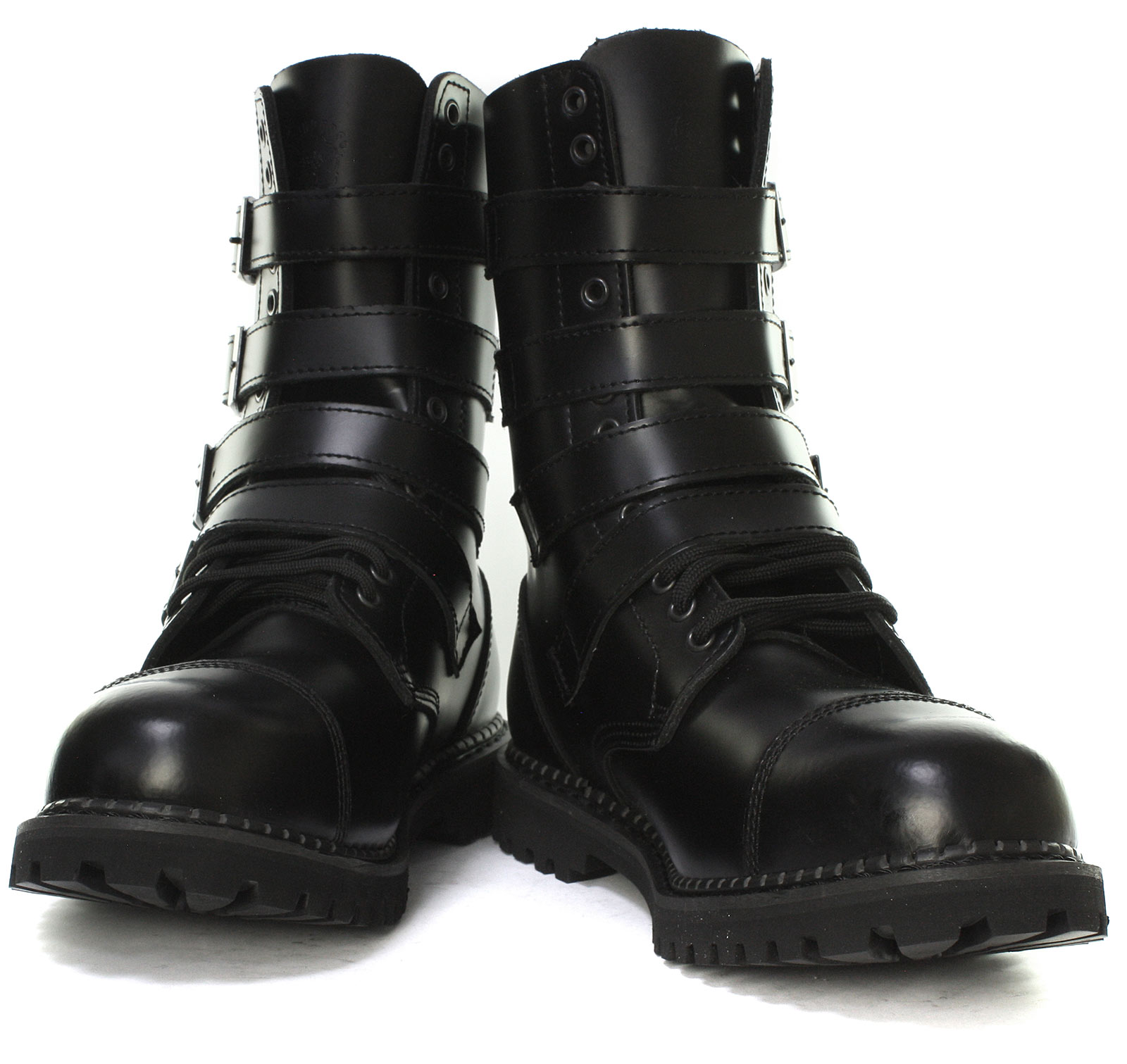 Grinders-Quad-CS-14-Eyelet-Buckle-Unisex-Steel-Toe-Derby-Boots-ALL-SIZES thumbnail 2