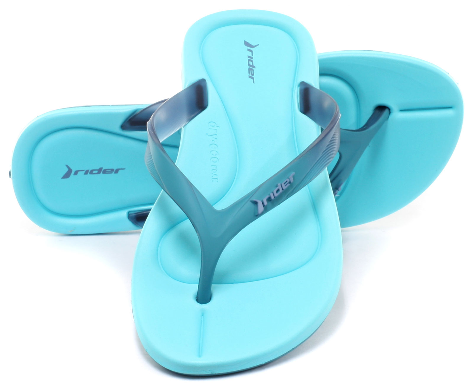6ac65777fe9d7 Rider Brasil Smoothie II Womens Beach Flip Flops ALL SIZES AND ...