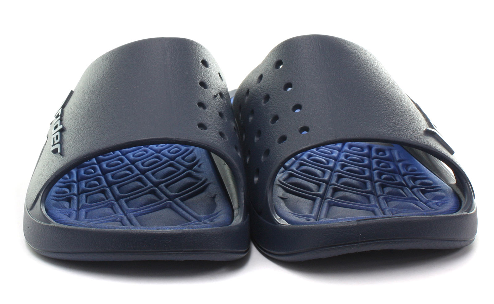 New-Rider-Brasil-Bay-VI-Navy-Mens-Slide-Sandals-Size-UK-9-EU-43