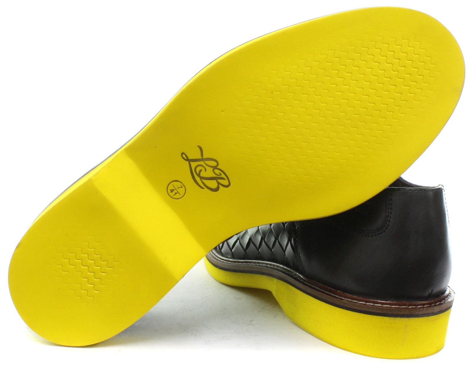NEW London Brogues Branson Da Uomo Con Con Con Lacci Scarpe Derby tutte le dimensioni e colori 75435f