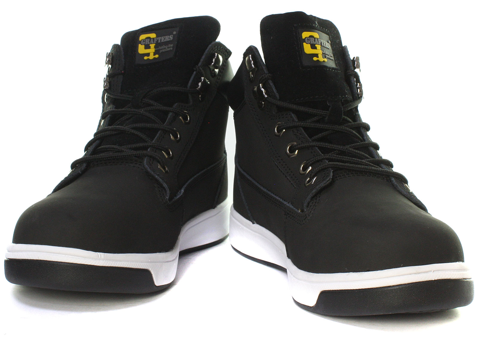 New-Grafters-M057A-Unisex-Safety-Trainer-Boots-ALL-SIZES miniature 2