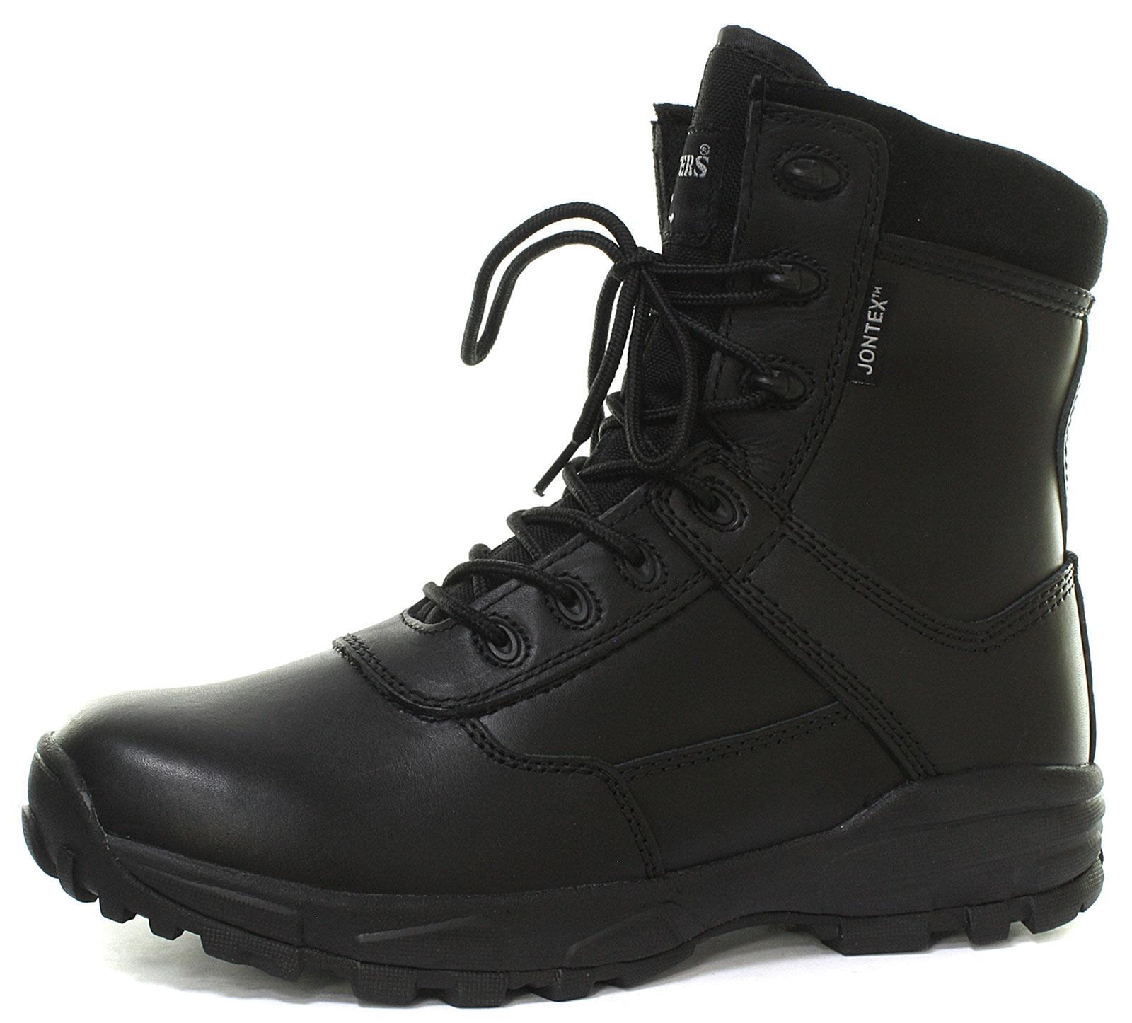 Grafters-Ambush-Black-Mens-8-034-Waterproof-Combat-Boots-ALL-SIZES