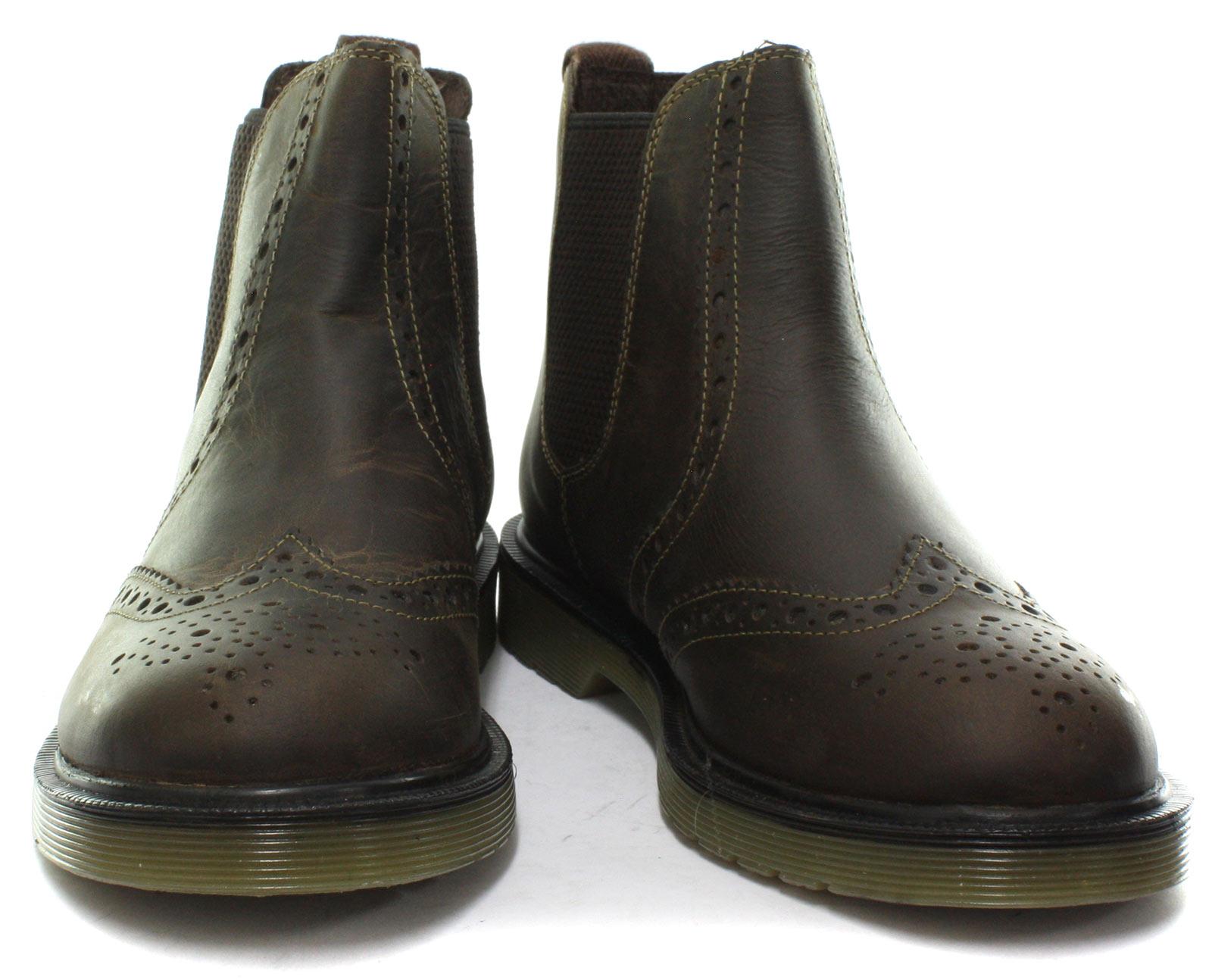 Chelsea Oaktrak Men Brown New tamaños Belper Richelieu Boots Todos los dYwvnTfqnx