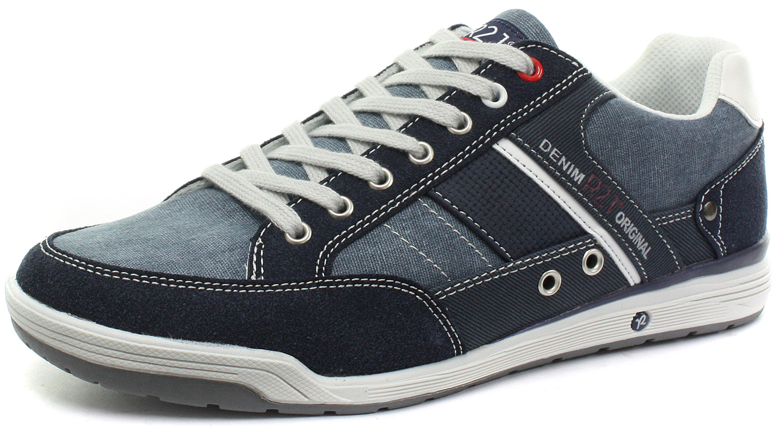 New Route 21 M145NC 7 Eye Mens Casual Lace Up shoes Size UK 7 (EU 41)