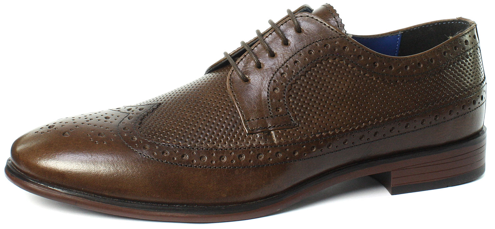 Red Tape Nappa Brown Mens Formal Shoe Uk 9 For Sale Online Ebay