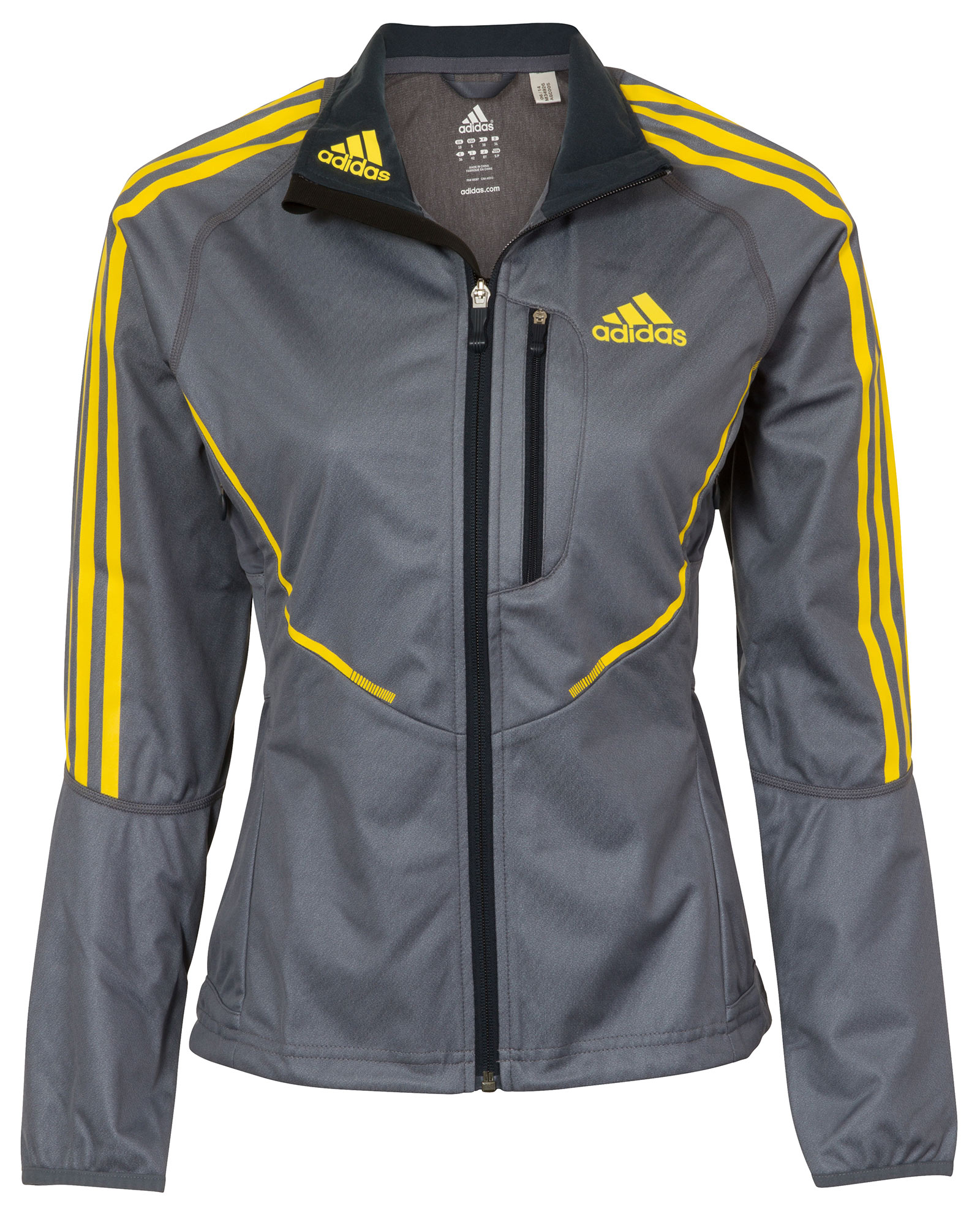 Details about adidas Athletics ClimaWarm Windstopper Womens Cross Country Jacket UK Size 6