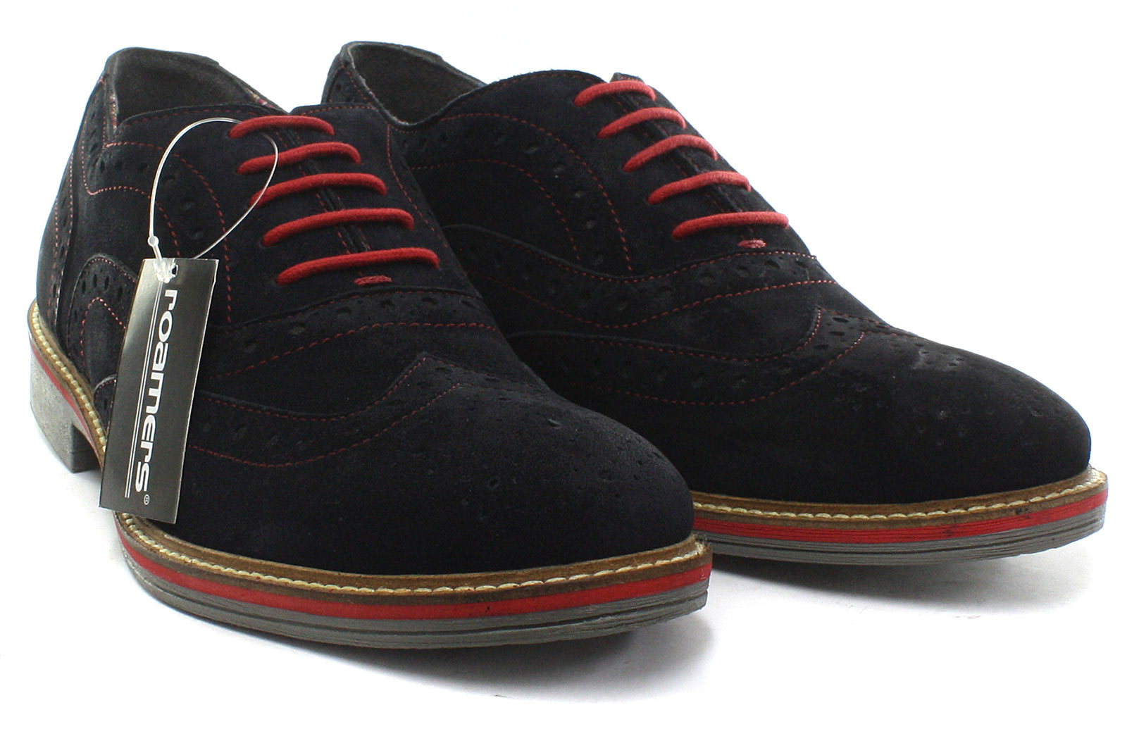 Oxford Taille Eye 5 6 Roamers Chaussures 5 Brogue Navy 39 Pour Homme M480cs eu xZnzH