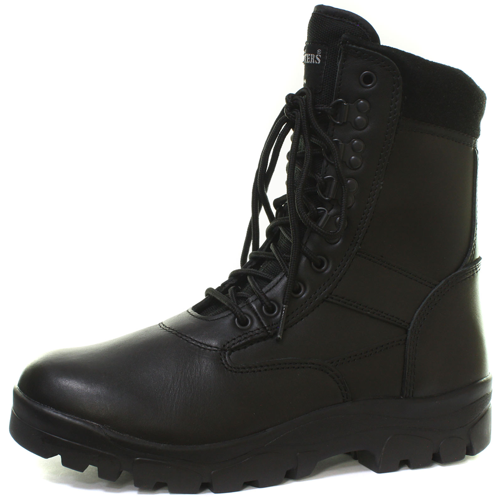 7e9527121c8 Grafters Mens Size 3-15 Tall Lace up Combat Army Military Mod Police ...