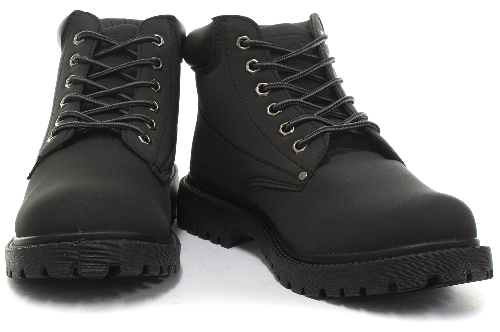 New-dek-Oasis-Unisex-6-Eyelet-Padded-Collar-Ankle-Boots-ALL-SIZES-AND-COLOURS miniature 5