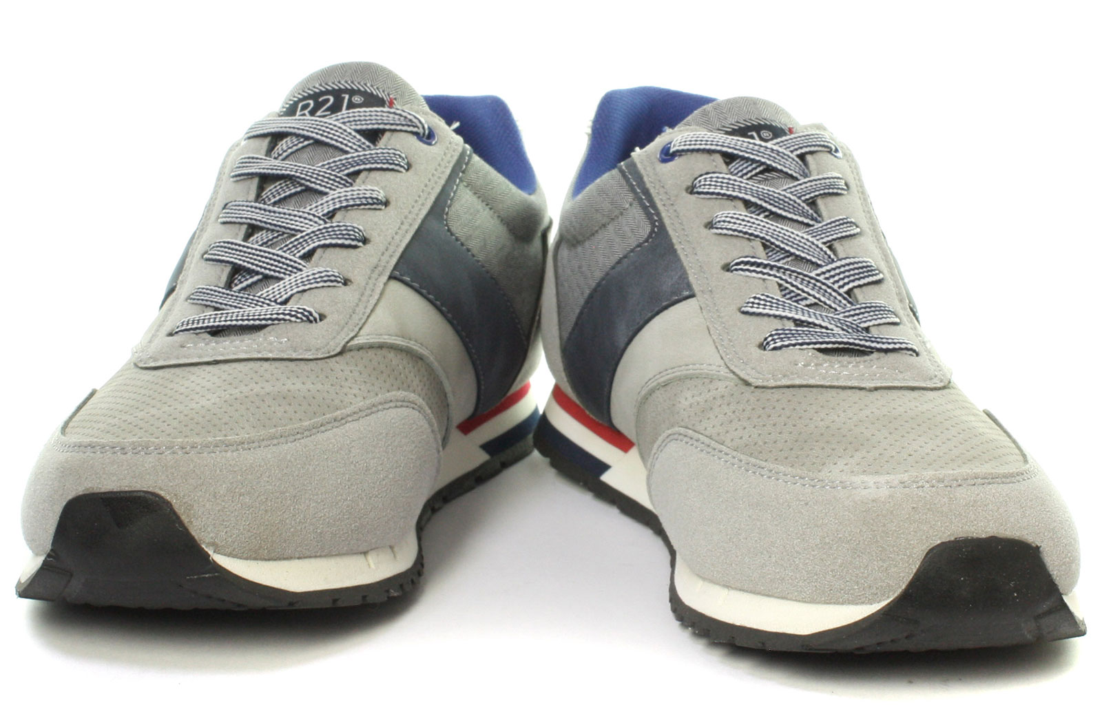 New Route 21 M708 6 Eye Mens Casual Trainer Shoes ALL SIZES AND COLOURS