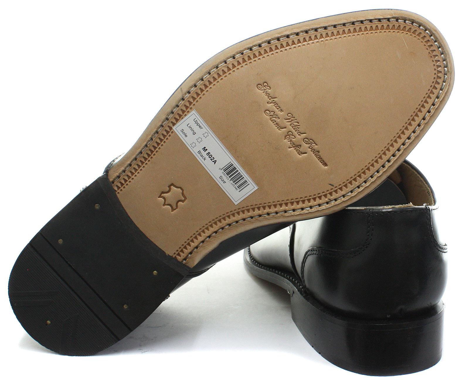 Up Capped Shoes Lace Black All Kensington Oxford Mens Classics Sizes x6nSZBwYq