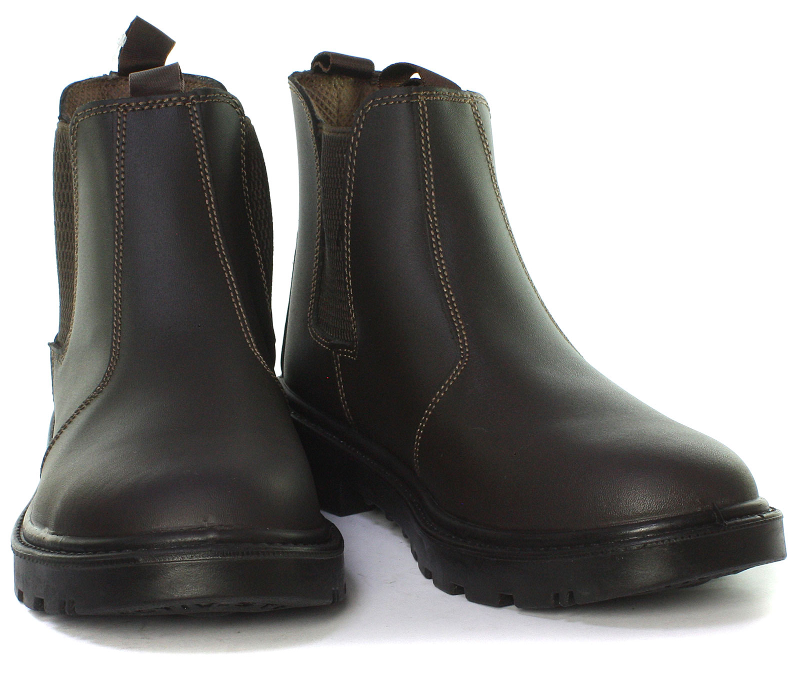 Grafters-Grinder-Twin-Gusset-Dealer-Mens-Safety-Boots-ALL-SIZES-AND-COLOURS miniature 12