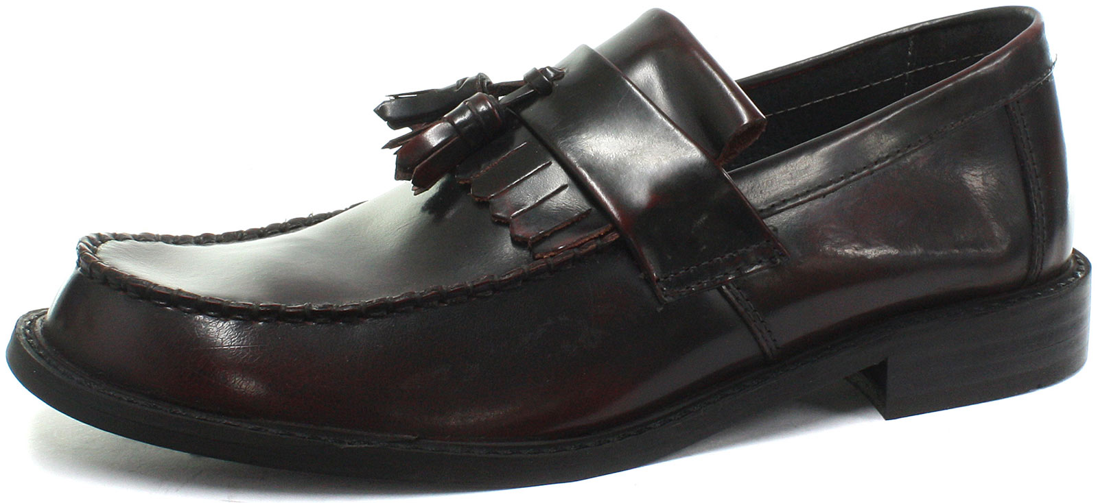 Roamers Toggle Saddle Oxblood Loafers  Uomo Slip On Loafers Oxblood ALL SIZES AND COLOURS 475c11