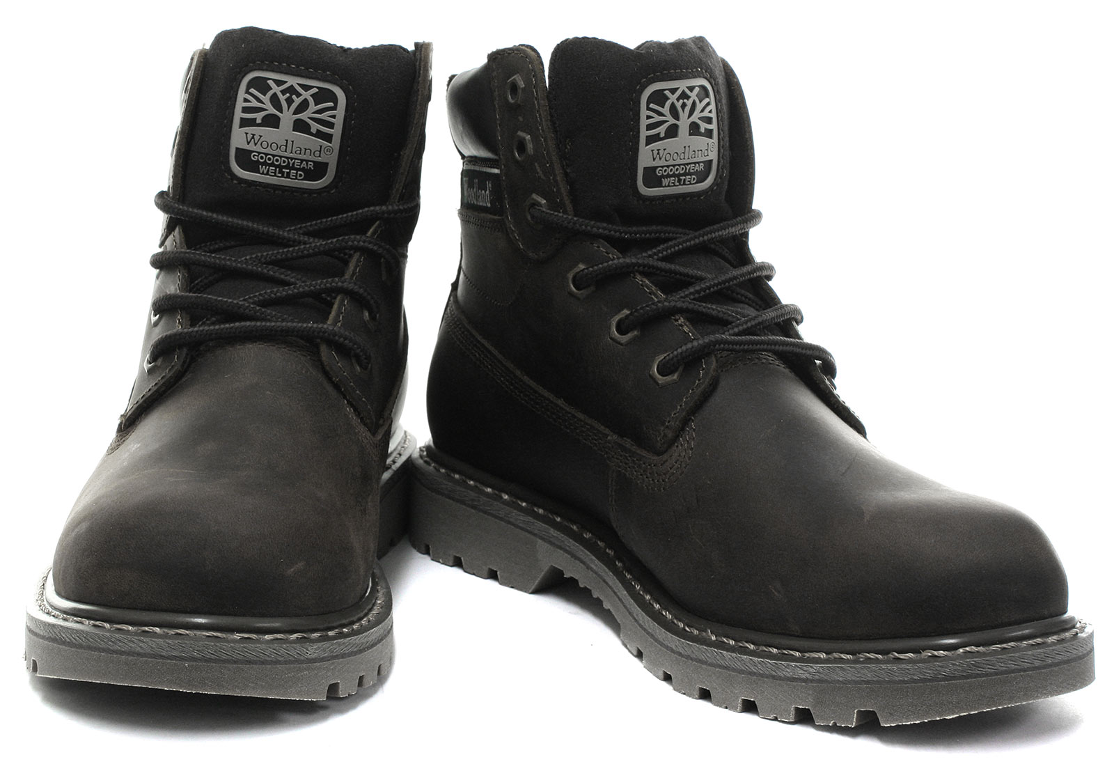 New-Woodland-M905-Mens-6-Eye-Utility-Boots-ALL-SIZES-AND-COLOURS miniature 6