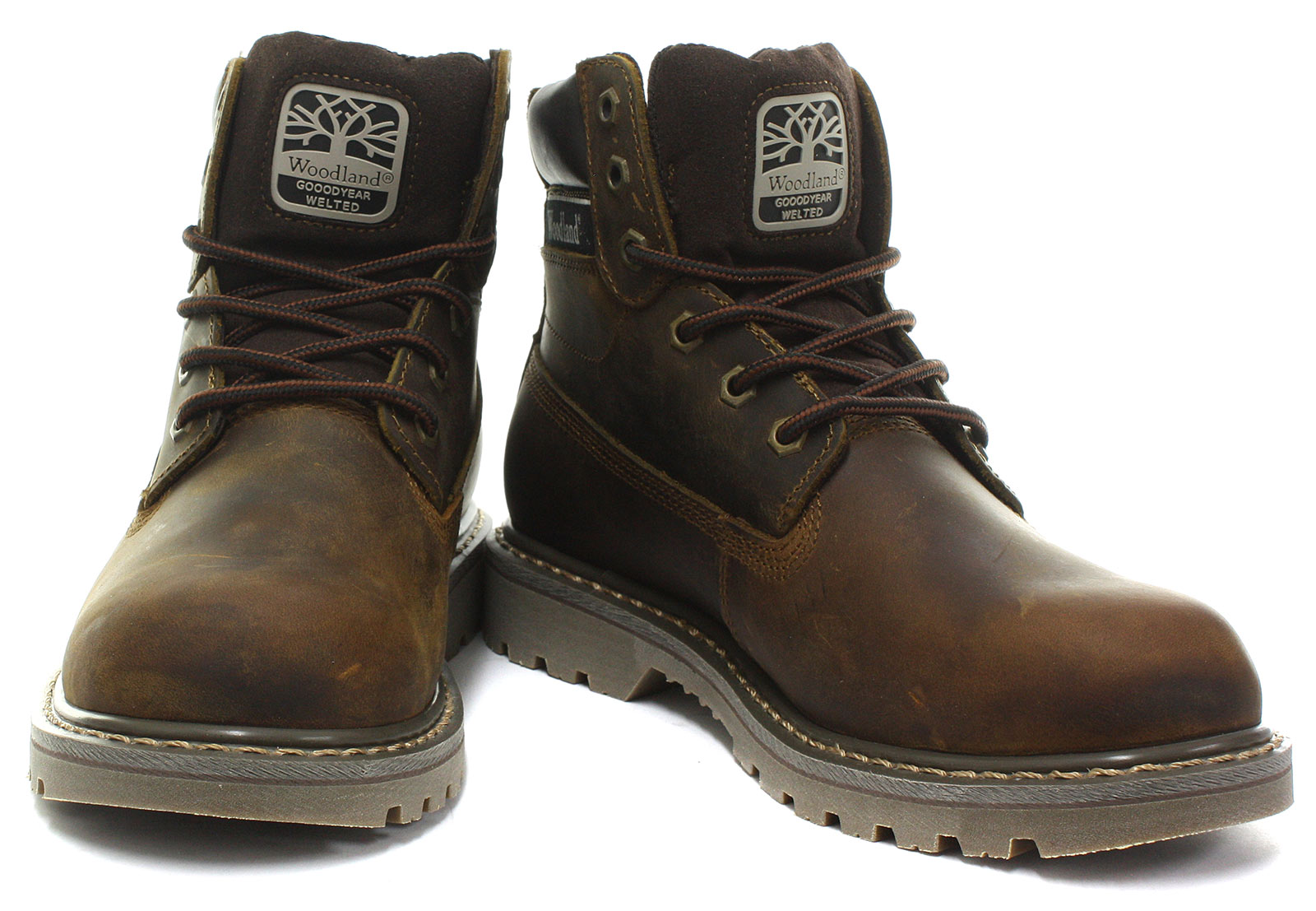 New-Woodland-M905-Mens-6-Eye-Utility-Boots-ALL-SIZES-AND-COLOURS miniature 12
