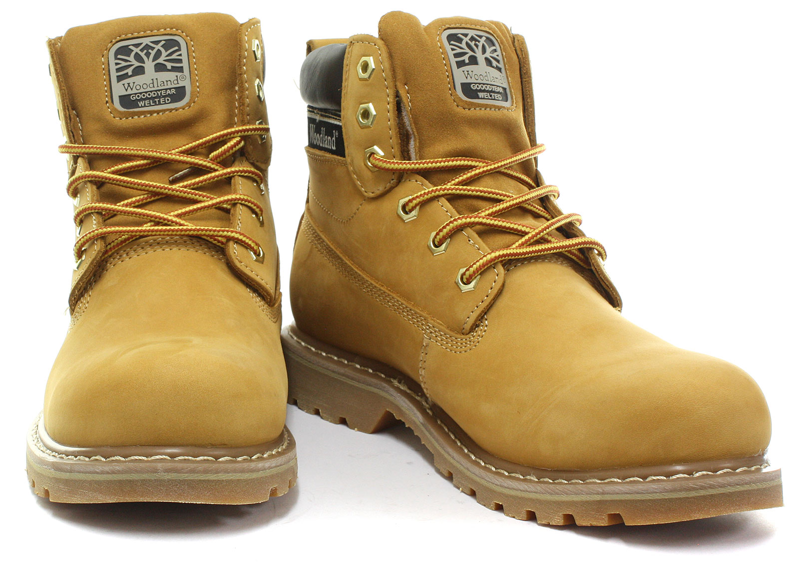 New-Woodland-M905-Mens-6-Eye-Utility-Boots-ALL-SIZES-AND-COLOURS miniature 18