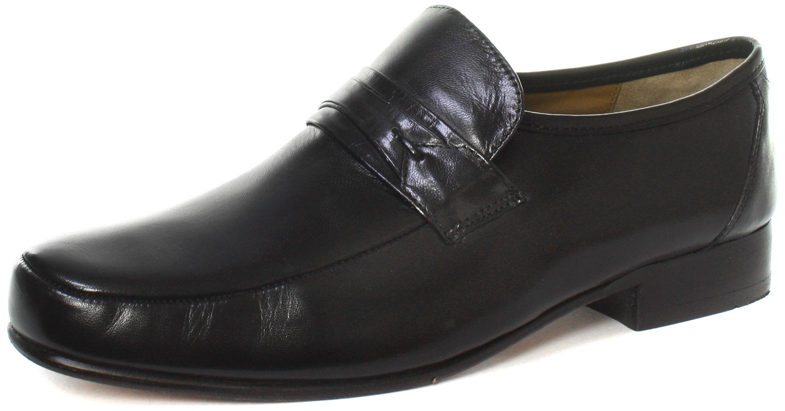 Kensington Classics Saddle Trim Mudguard Black Mens shoes ALL SIZES