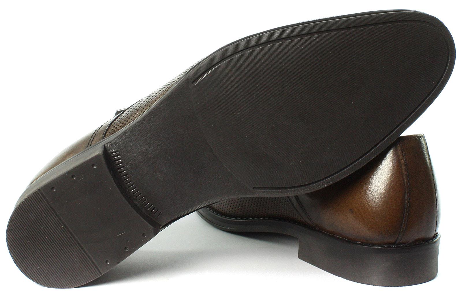 Mk057987 Toutes Lacets Nouveau Pour Nappa Hommes Chaussures Tailles Derby Brown À Ruban Rouge OnqExwTaC