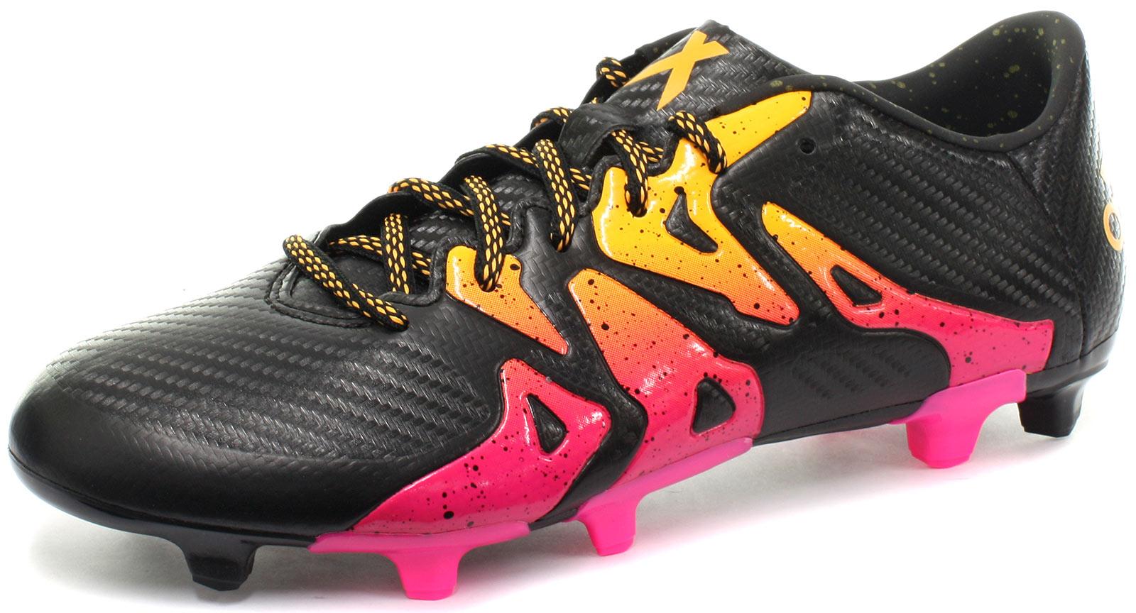 ADIDAS Da Uomo x 15.3 FG/AG FOOTBAL Scarpe UK 7.5