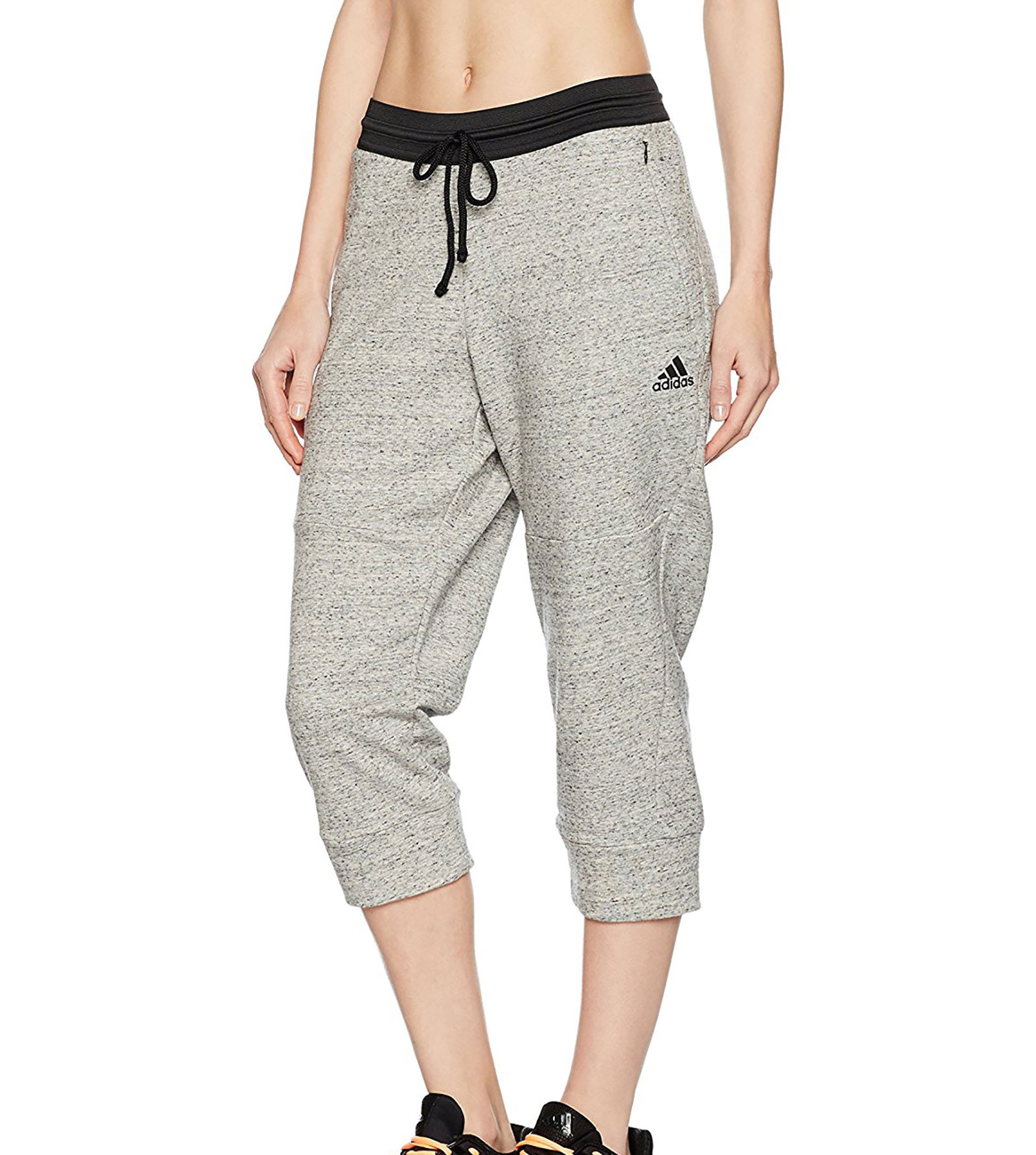 New adidas womens cotton fleece 34 pants all sizes | eBay