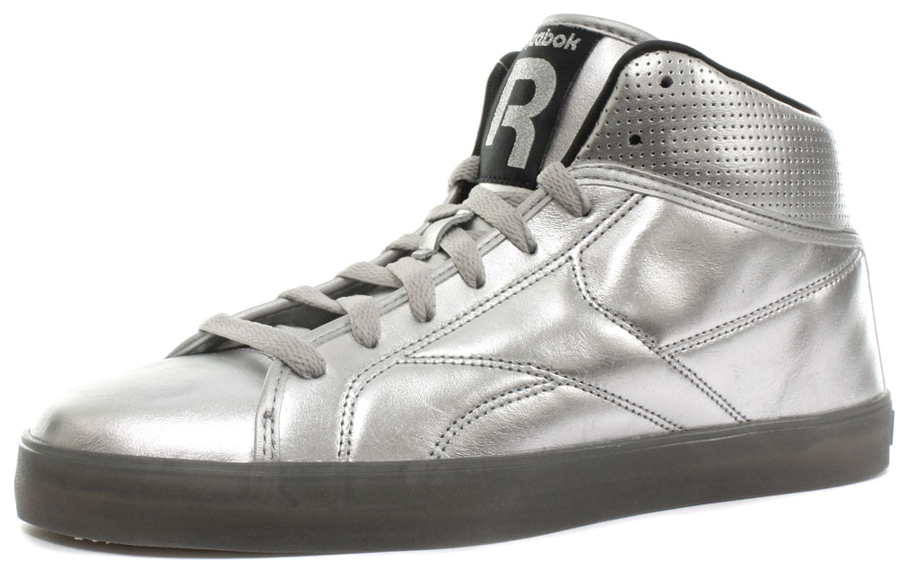 84abd67ef62d Image is loading New-Reebok-Classic-T-Raww-Mens-Silver-Trainers-