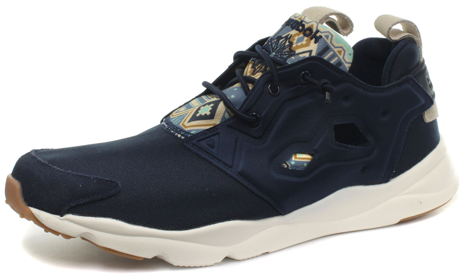 e8a97a0fc1ad47 Reebok Classic Furylite GP Navy Mens Trainers All Sizes 7 for sale ...