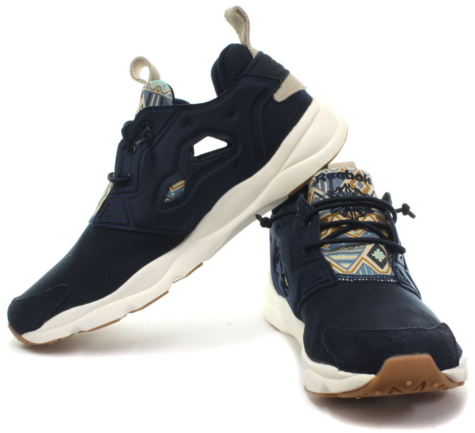 NEW REEBOK CLASSIC Furylite GP Navy Mens Trainers ALL SIZES