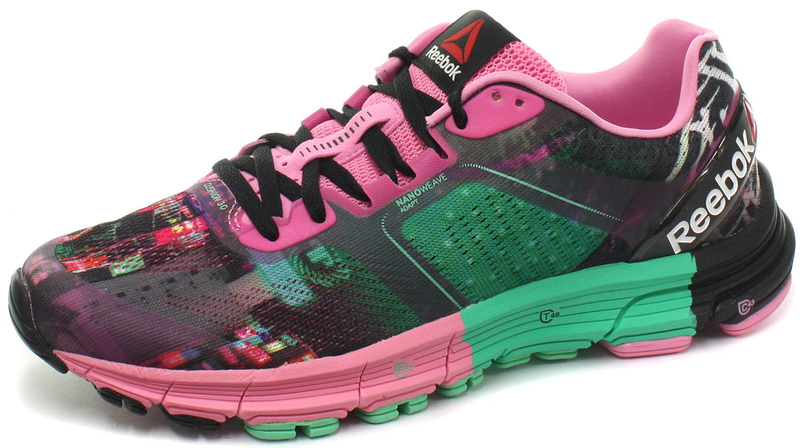 0 Reebok Shoes UK Cushion Trainers 3 CG Womens Running One Size pLqUzMVSG