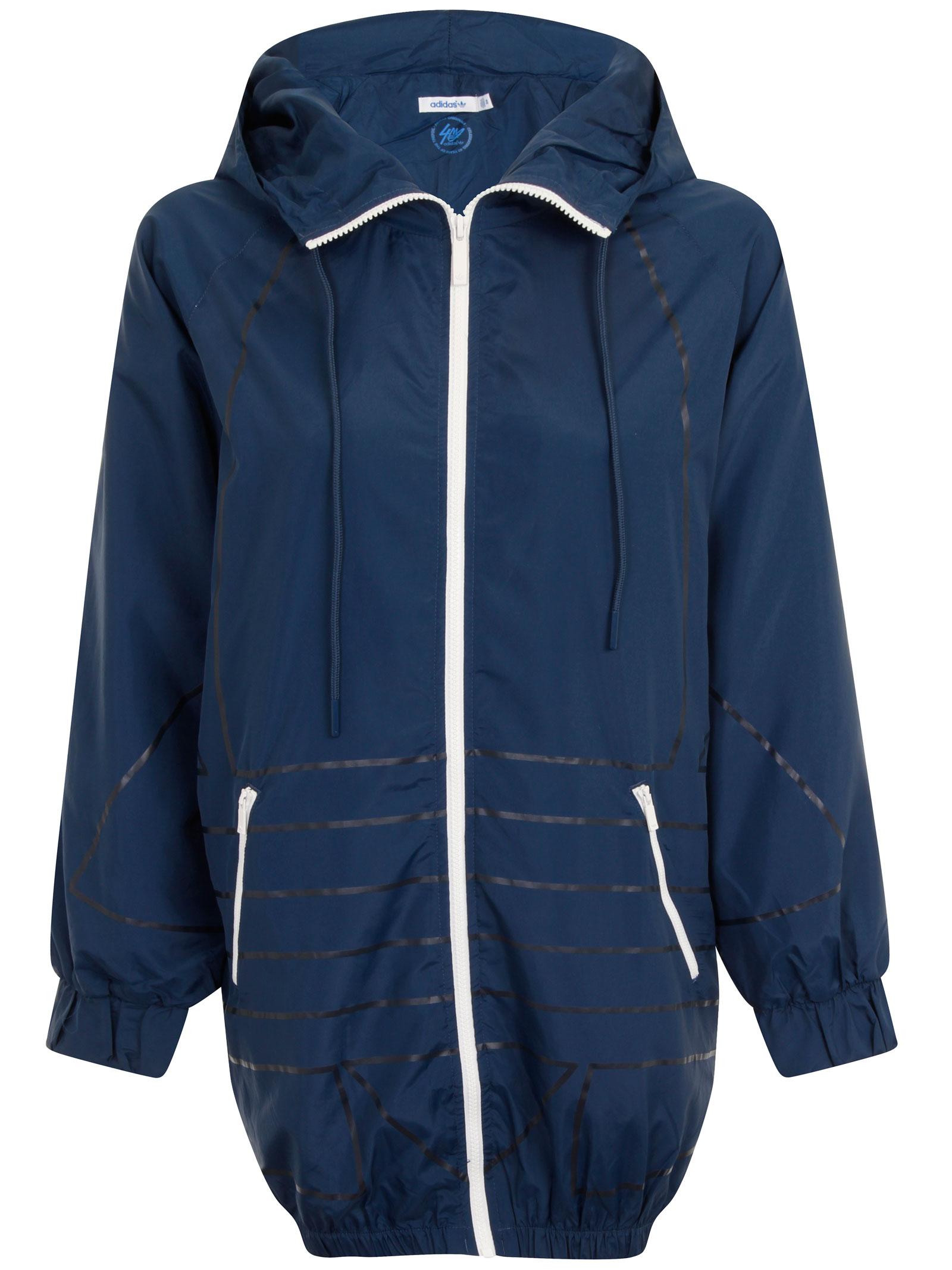 chaqueta adidas mujer capucha