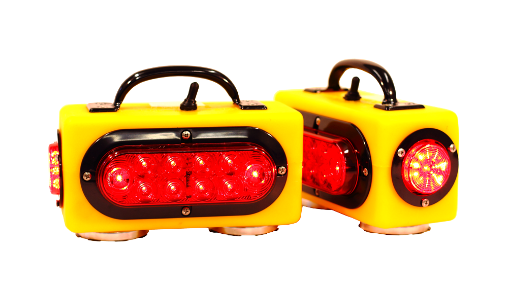 Towmate Tm3 Magnetic Wireless Tow Truck Lights Car Tow