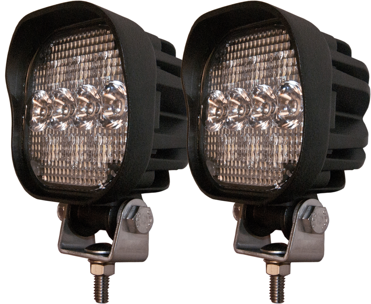 Pair Of 10 Diode Led Compact Work Lights Led Tractor Lights