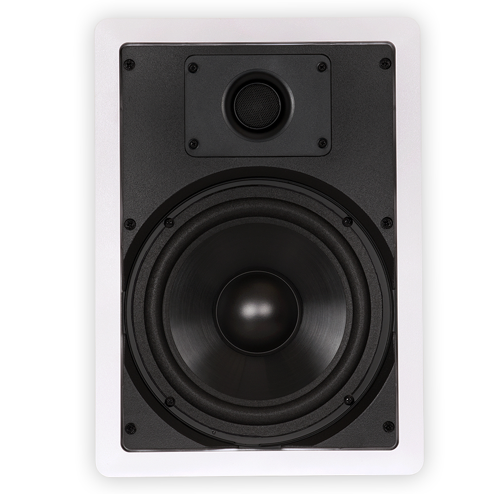 "Theater Solutions CS8W In Wall 8"" Speakers Home Theater"