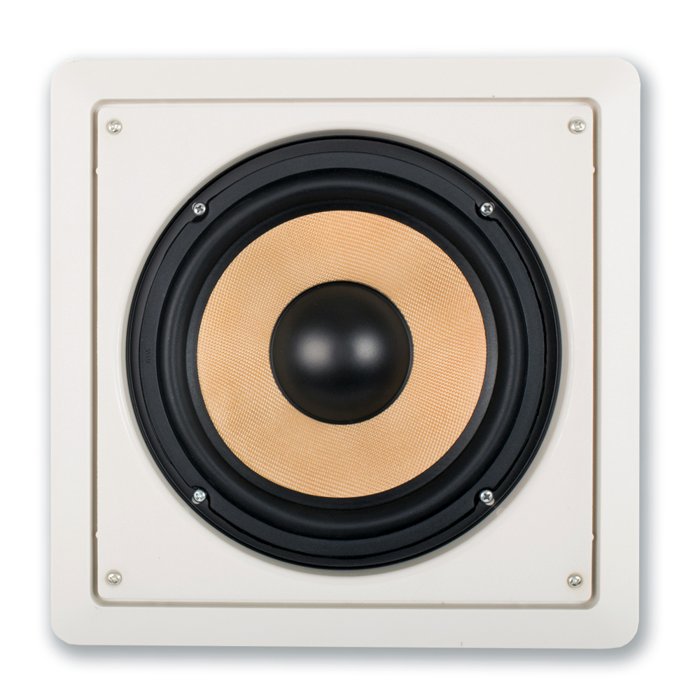 acoustic audio hd s8 in wall 8 home passive subwoofer speaker and amplifier ebay. Black Bedroom Furniture Sets. Home Design Ideas