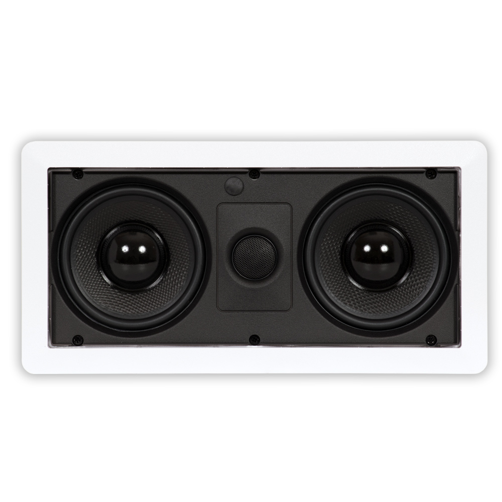 Theater Solutions LCR525 In Wall Speaker Home Theater