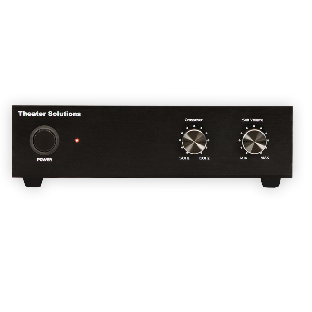 theater solutions sa200 passive subwoofer 200 watt amplifier for home theater ebay. Black Bedroom Furniture Sets. Home Design Ideas