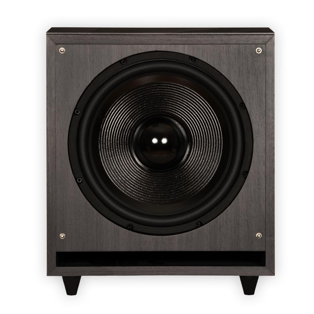 theater solutions sub12f home theater powered 12 subwoofer front firing sub 813282016382 ebay. Black Bedroom Furniture Sets. Home Design Ideas