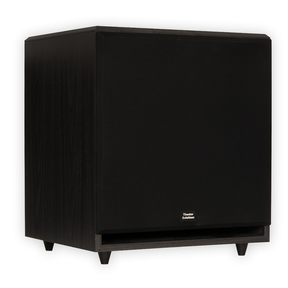 theater solutions sub15f home theater powered 15 subwoofer front firing sub ebay. Black Bedroom Furniture Sets. Home Design Ideas