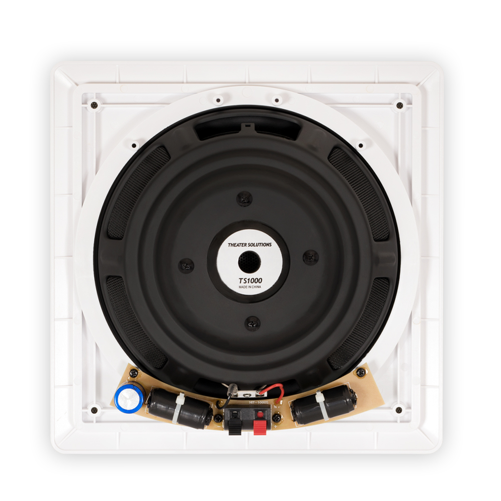 Theater Solutions TS1000 Passive 10 Home In Wall 2 Subwoofers And Amps Set