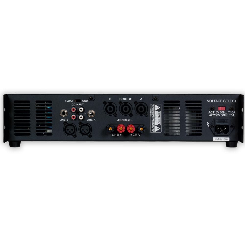 podium pro vx1000 power amplifier 2 channel 1000 watt pa dj karaoke band amp ebay. Black Bedroom Furniture Sets. Home Design Ideas