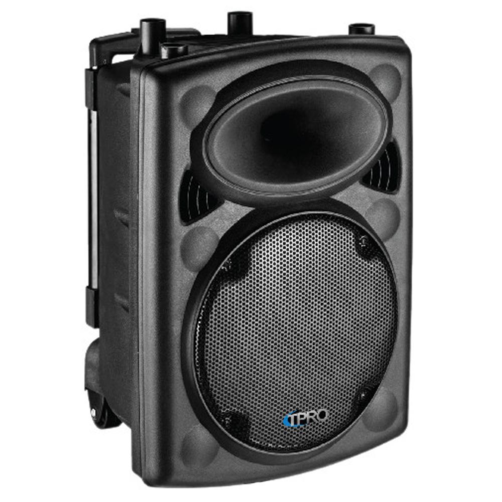 technical pro vortex12 passive dj speaker abs plastic with trolley 1200 watts ebay. Black Bedroom Furniture Sets. Home Design Ideas