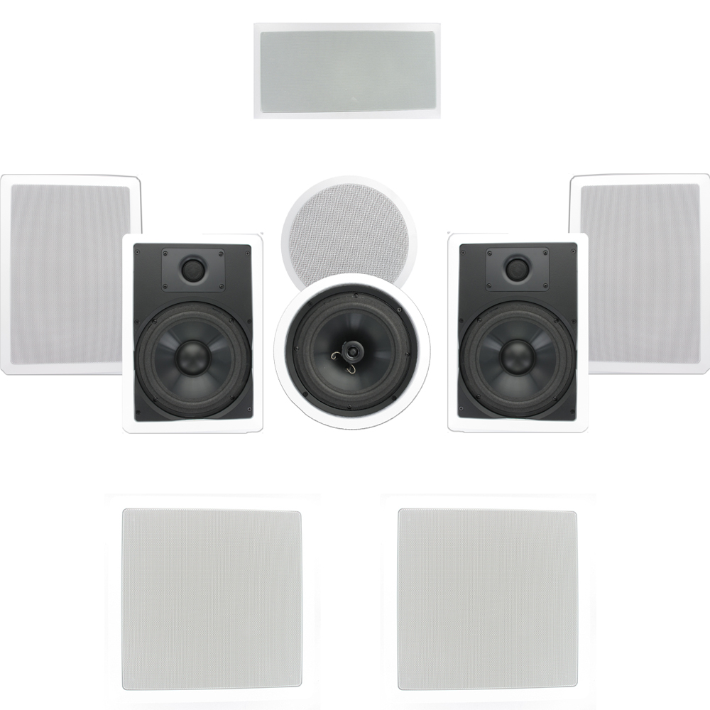 Theater Solutions TSCST87 In-Wall/Ceiling 1700W Home