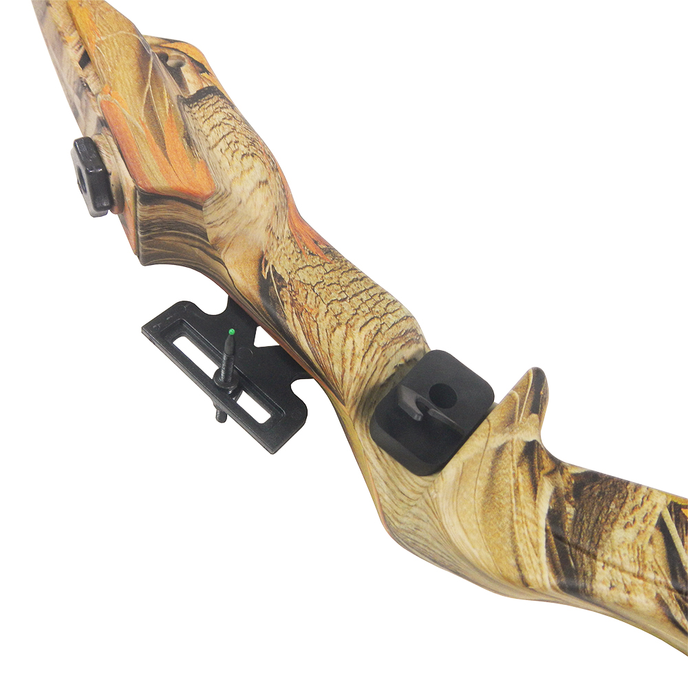 20-lb-Black-Camouflage-Camo-Archery-Hunting-Recurve-Bow-Arrows-Compound-40-30 thumbnail 5