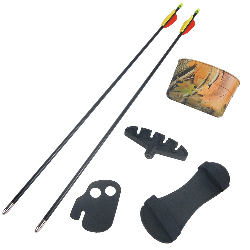 20-lb-Black-Camouflage-Camo-Archery-Hunting-Recurve-Bow-Arrows-Compound-40-30 thumbnail 6