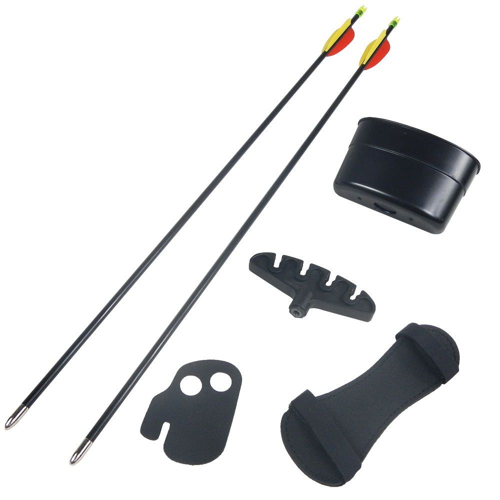 20-lb-Black-Camouflage-Camo-Archery-Hunting-Recurve-Bow-Arrows-Compound-40-30 thumbnail 9